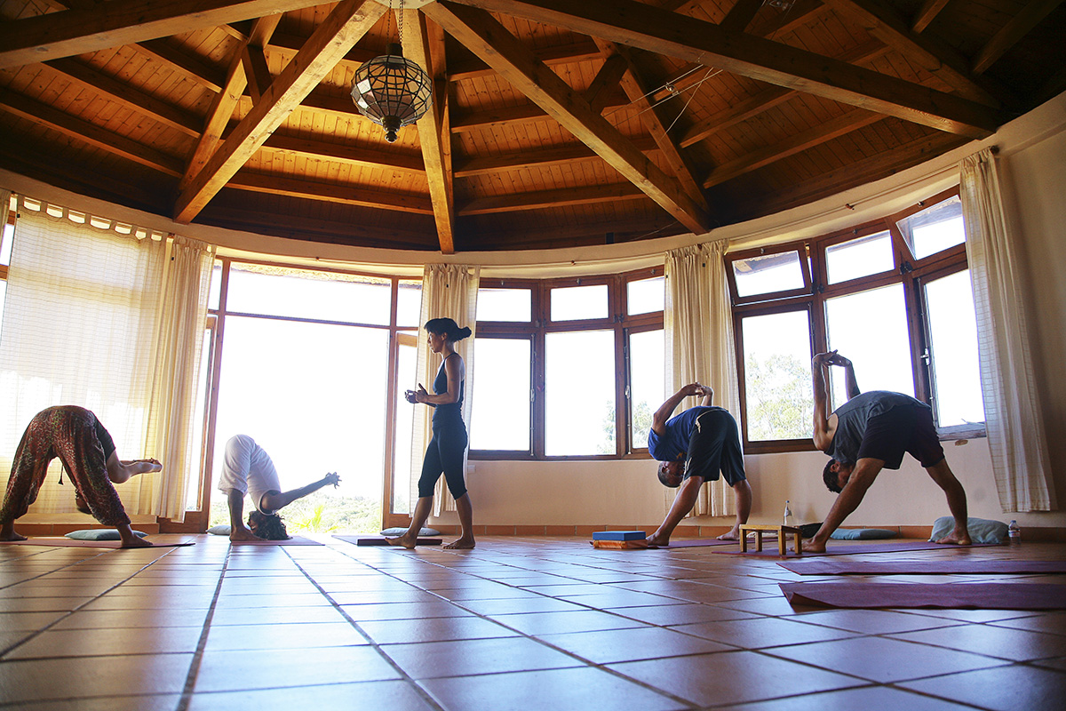 Op Yin yoga retraite in Portugal