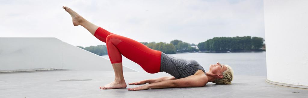 slank met yoga afvallen - danielle raats
