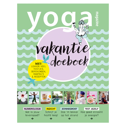 Yoga Magazine vakantiedoeboek 2018