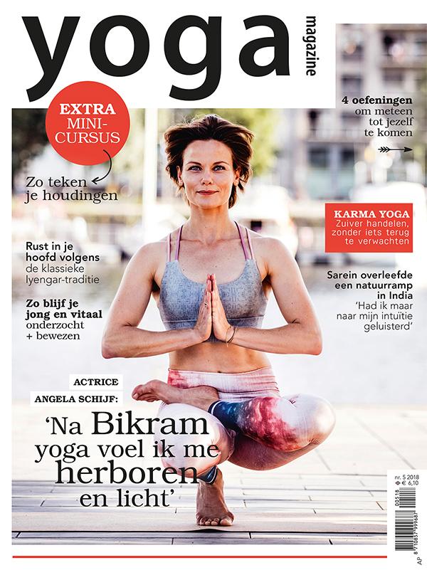 yoga magazine angela schijf