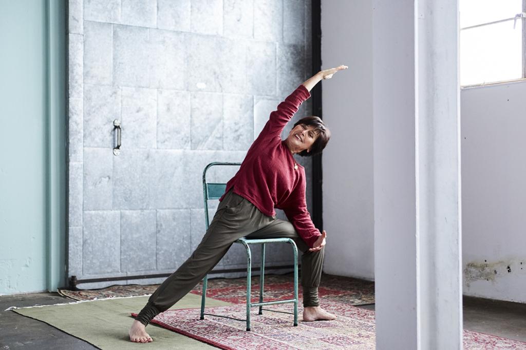 yoga serie: Voelen waar je bent