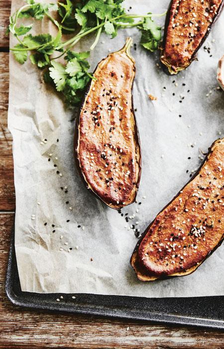 vegetarische recepten - aubergine