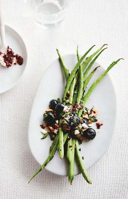 vegetarische recepten - sperziebonen