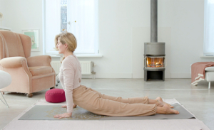 Stretch je bindweefsel met Yin yoga
