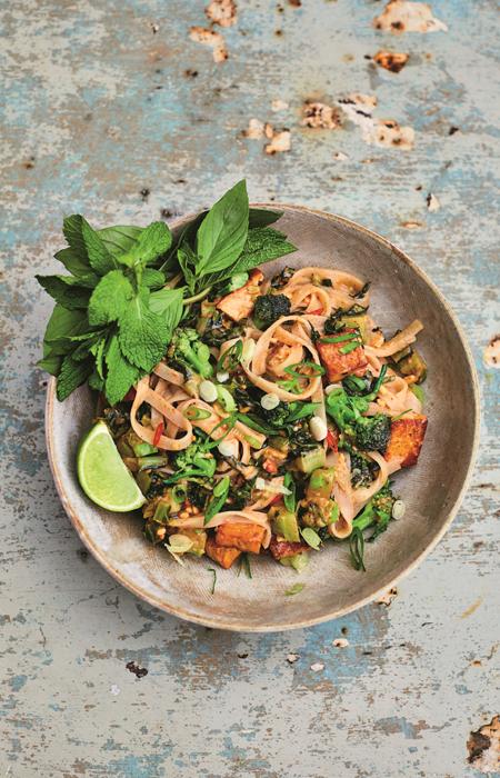 vegan recepten - pad thai