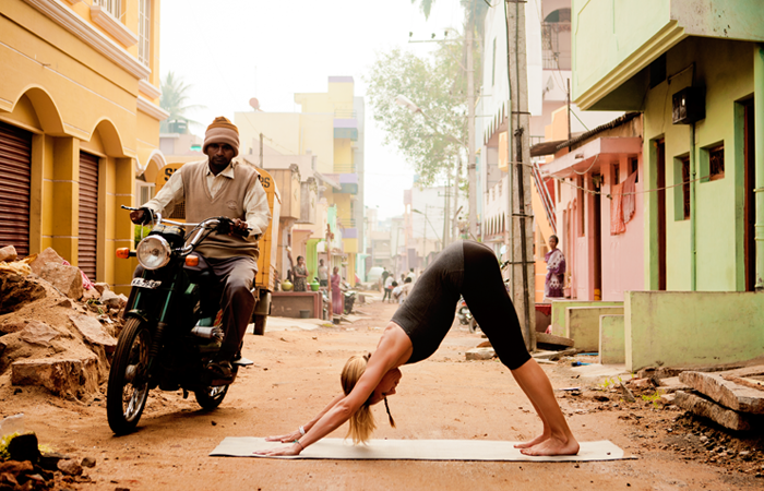 Adho Mukha Svanasana - mythe yoga filosofie