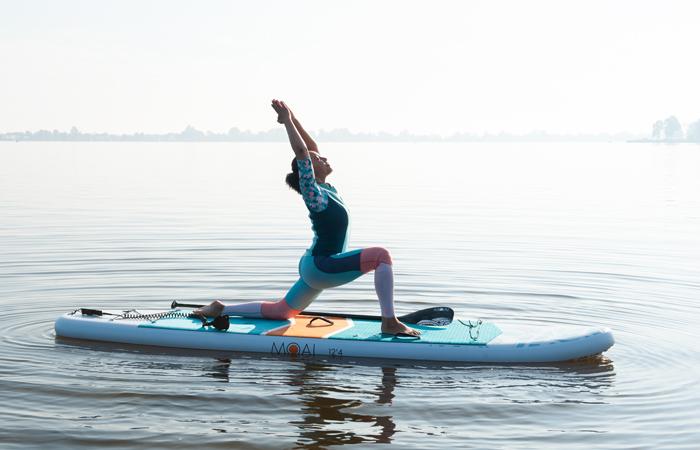 sup yoga-lage lunge