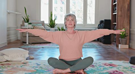 Ochtendyoga met Annette Visser