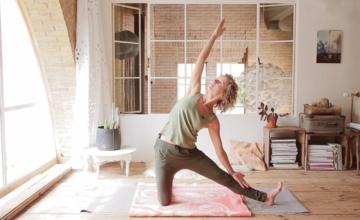 7 yogahoudingen tegen stress