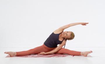 Pilates met yogahoudingen