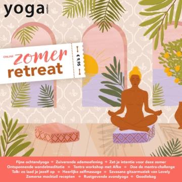 Het nieuwe Yoga Magazine Online Yoga Retraite is er!