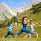 Laat je energie weer stromen met bergyoga in Oostenrijk