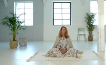 Mediteren voor zonsopkomst