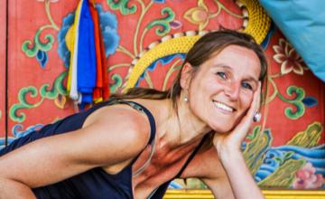 Waarom Marion met yoga begon? Omdat ze het nodig had