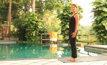 In de Ashtanga flow op Bali