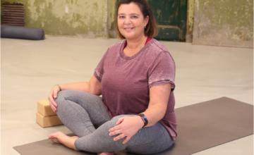 'Ik dacht altijd: yoga is voor slanke mensen'