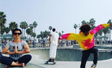 Trend uit LA: Love Yoga