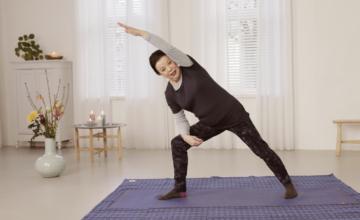 Soepel door de overgang met yoga