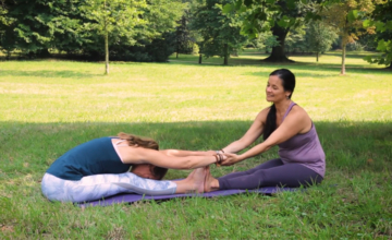 Yogaoefeningen om samen te doen