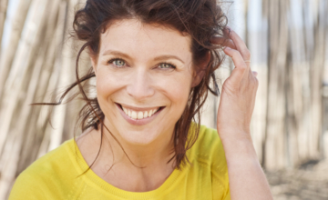 Evy Gruyaert: 'Yoga helpt me om gas terug te nemen'