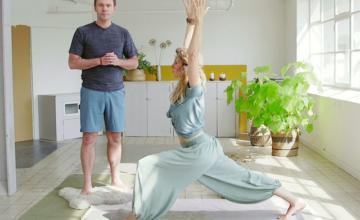 3 Mindful yoga met Johan en Mariken