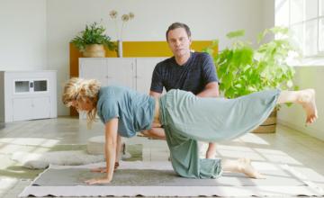 Mindful yoga tegen stress