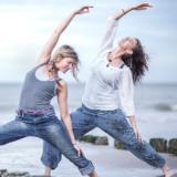 India, Bali, Ibiza? Dagmar ging op yogaweekend in Zeeland