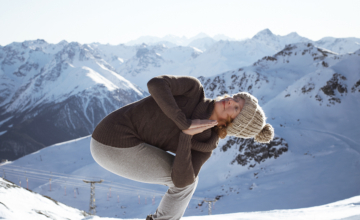 Yogahoudingen tegen de winterblues
