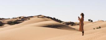 Yoga in de bergen en woestijn van Marokko