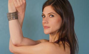 De Amerikaanse Laura Burkhart: 'Yoga leerde me afstand nemen van pijn'