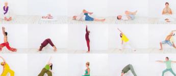 Veertig yogis