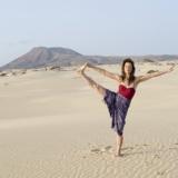 Nadja Hüpscher zoekt ontspanning op Fuerteventura
