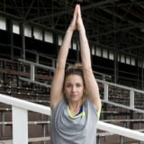 Hockeyster Ellen Hoog over yoga