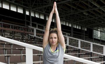 Hockeyster Ellen Hoog over yoga