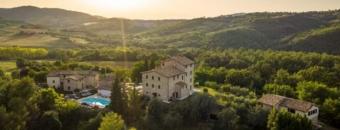 Yoga en wandelen in Italië