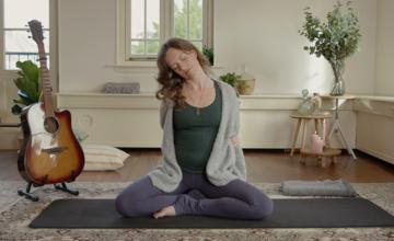 Yin yoga voor als je thuiswerkt